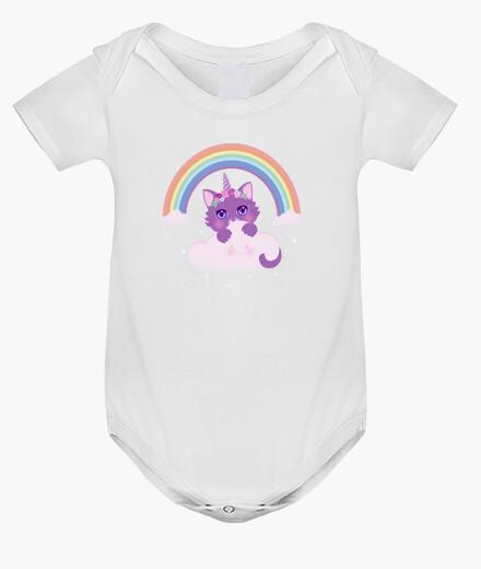 Ropa infantil Gato arcoiris