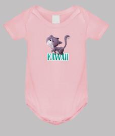Gato caminando KAWAII