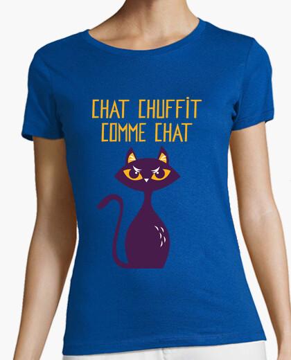 Camiseta gato chuffit