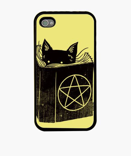 Funda iPhone gato de la brujería iphone 4 / 4s