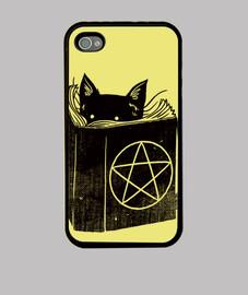 gato de la brujería iphone 4 / 4s