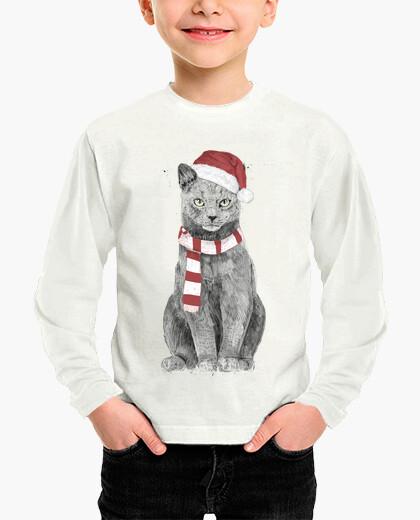 Ropa infantil gato de navidad