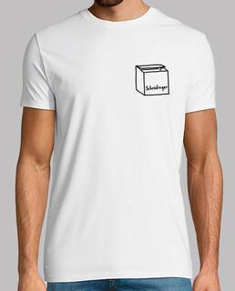 Gato de Schrodinger Camiseta Hombre