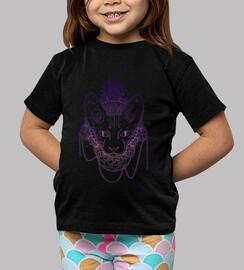 Gato Degradado, camiseta niñe