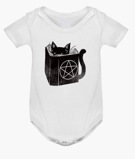 Ropa infantil gato del bebé brujería