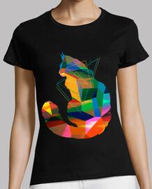 gato del cubismo