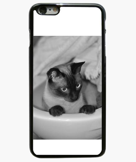 a2f15a4e289 Funda iPhone 6 Plus / 6S Plus Gato en blanco y negro - nº 1531106 ...