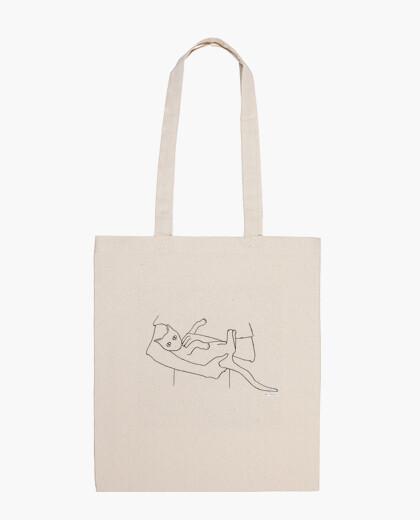 Bolsa Gato en brazos Tote Bag