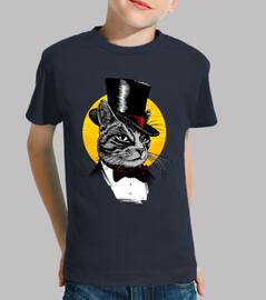 gato esmoquin