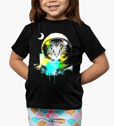 Ropa infantil gato espacial