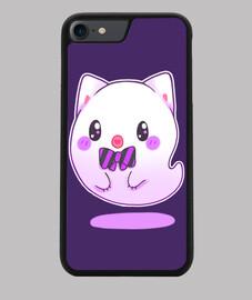 gato fantasma kawaii