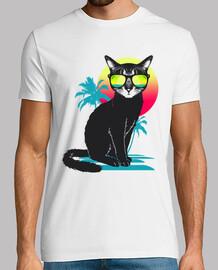gato fresco de verano