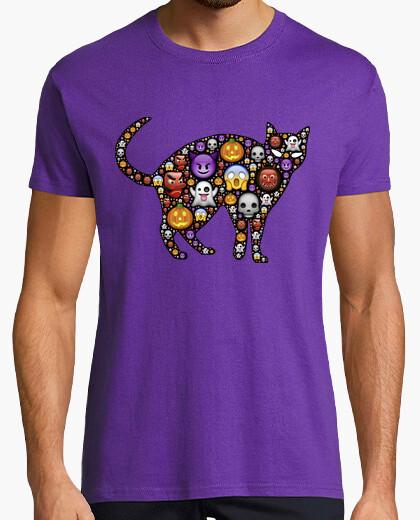 Camiseta Gato Halloween