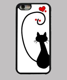 Gato in love funda izquierda