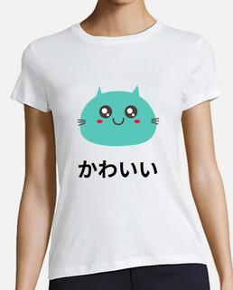 gato kawaii - anime japonés lindo neko
