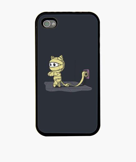 Funda iPhone Gato momia