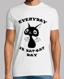 Gato negro - Camiseta chico