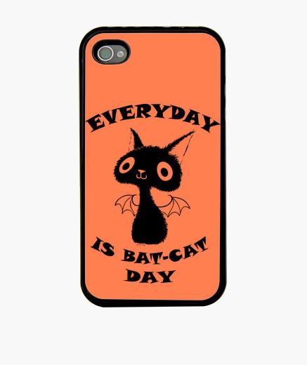 Funda iPhone Gato negro - iPhone 4 (4S)
