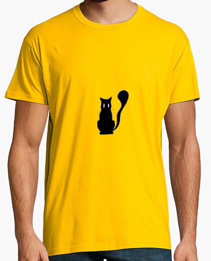 Camiseta Gato negro 2
