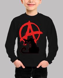 gato negro anarquista