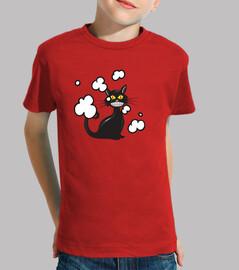 Gato negro malo