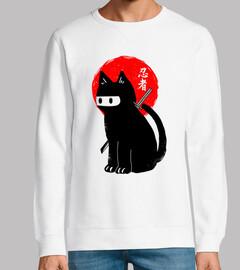 gato negro ninja