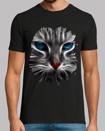 Gato Ojos Azul