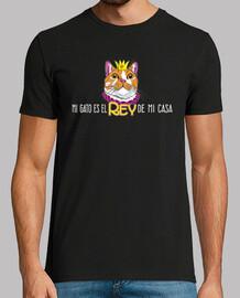 Gato Rey Camiseta