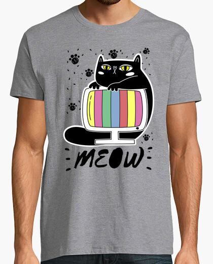 Camiseta Gato tele