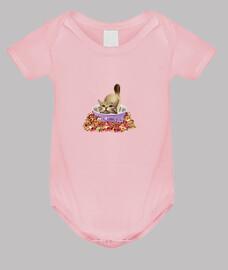 Gato Travieso 01 - body bebé