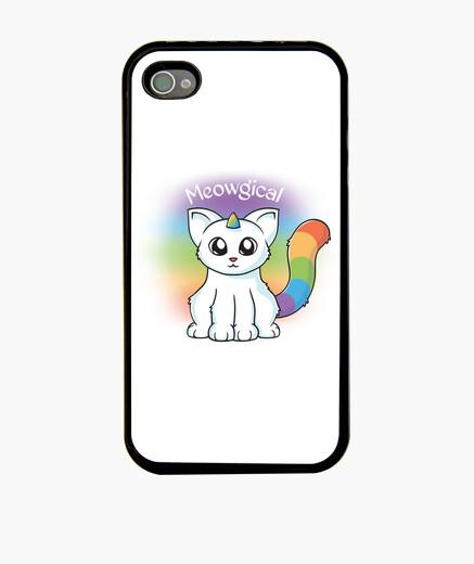 Funda iPhone gato unicornio meowgical