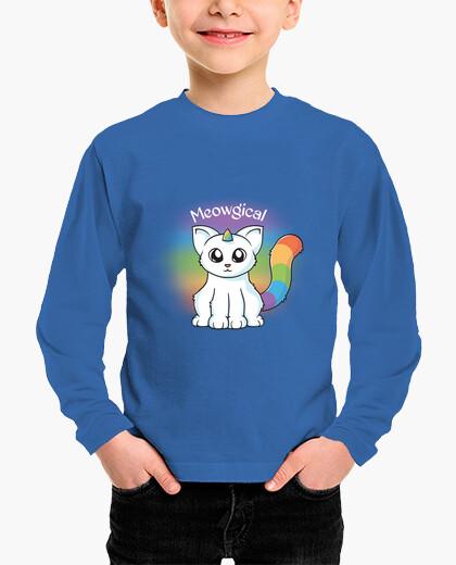 Ropa infantil gato unicornio meowgical