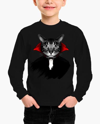 Ropa infantil gato vampiro
