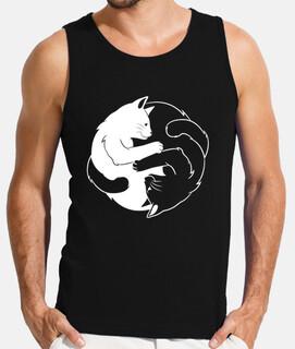 gato ying yang para los amantes de los