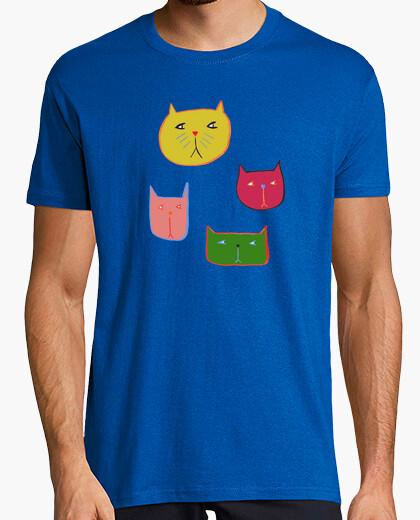 Camiseta Gatos