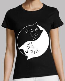Gatos Yin y Yang