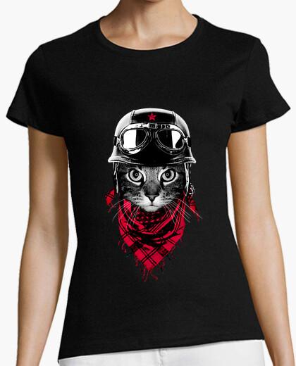 T-shirt gatto avventuriero