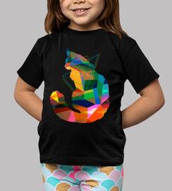 gatto cubismo
