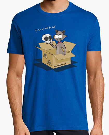 T-shirt gatto di schrödinger