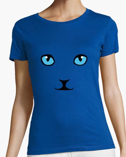 T-shirt gatto scontroso