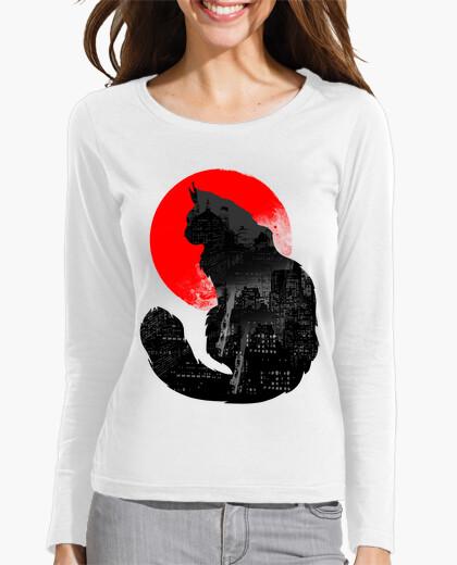 T-shirt gatto urbano