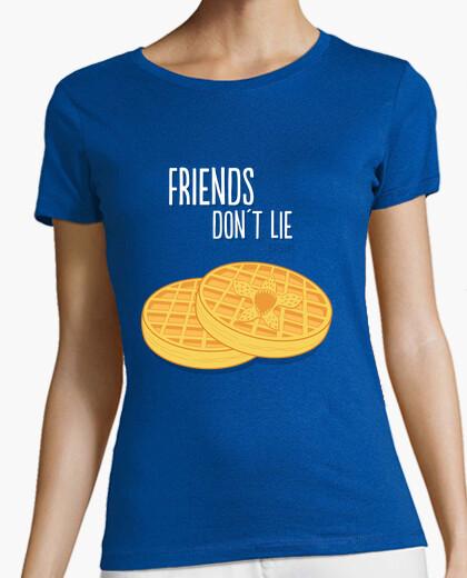 Tee-shirt gaufres ne mentent pas !!