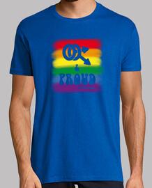 gay e orgoglioso di bandiera