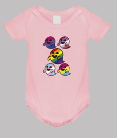 Gaysper Family. Body bebé, rosa claro