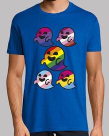 Gaysper Family. Hombre, manga corta, amarillo limón, calidad extra