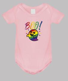 Gaysper Ghost. Body bebé, rosa claro
