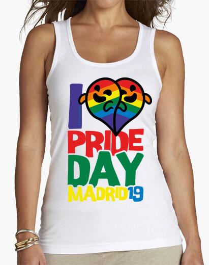 T-shirt gaysper heart rainbow lgbt