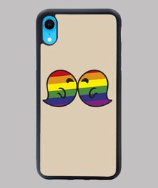 Gaysper Kiss. Funda iPhone XR