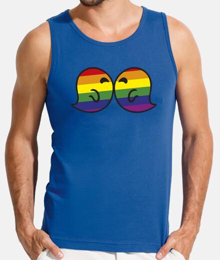 gaysper kiss man, sleeveless, royal blue