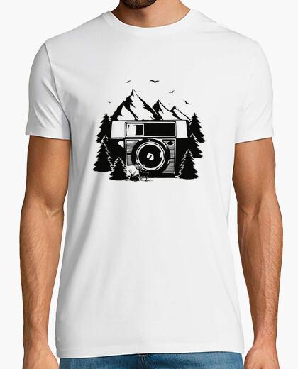 T-Shirt Gebirgsfoto